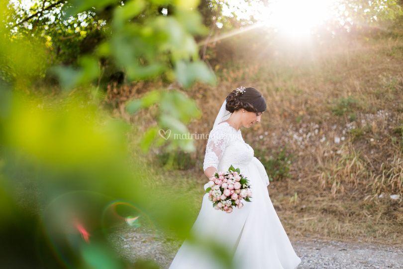 Sposa e campagna