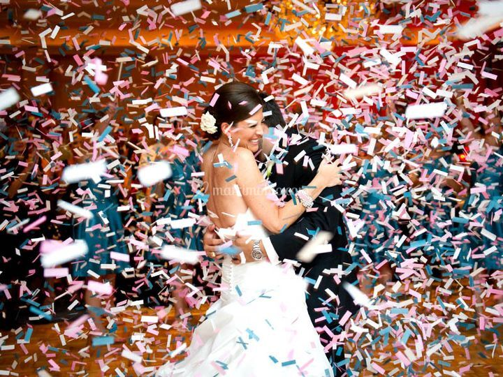 Effetti speciali per le nozze