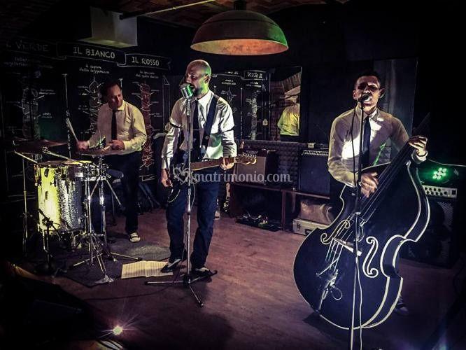 Trio Rockabilly anni 50 Swing