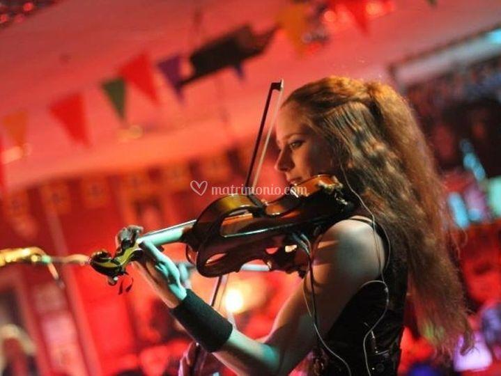 Violinista Violino Elettrico
