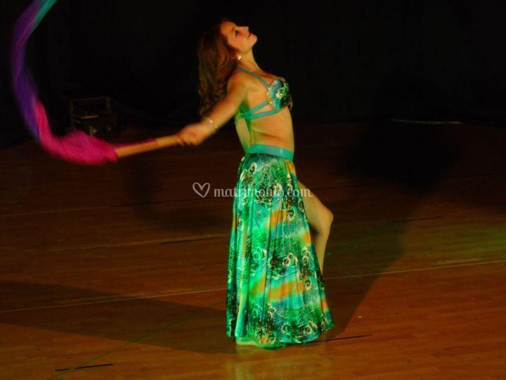 Danza dei fan veils