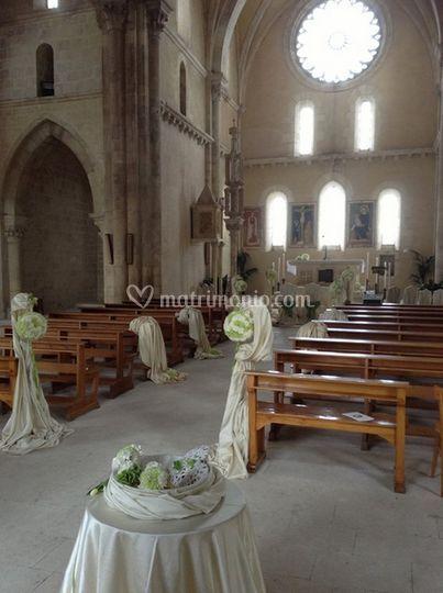 Decorazione nella Chiesa