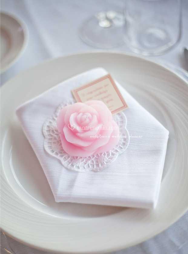 Candele Matrimonio Segnaposto.Candela Rosa Segnaposto Di Grillo Eventi Foto 4