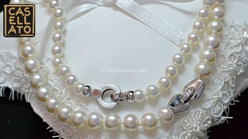 Fili di perle con chiusura