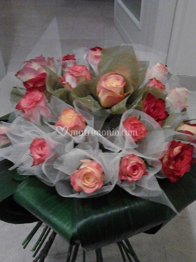 Bouquet per premiazione ferrar