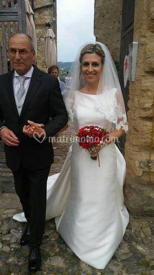 Sposa a Vigoleno, castello