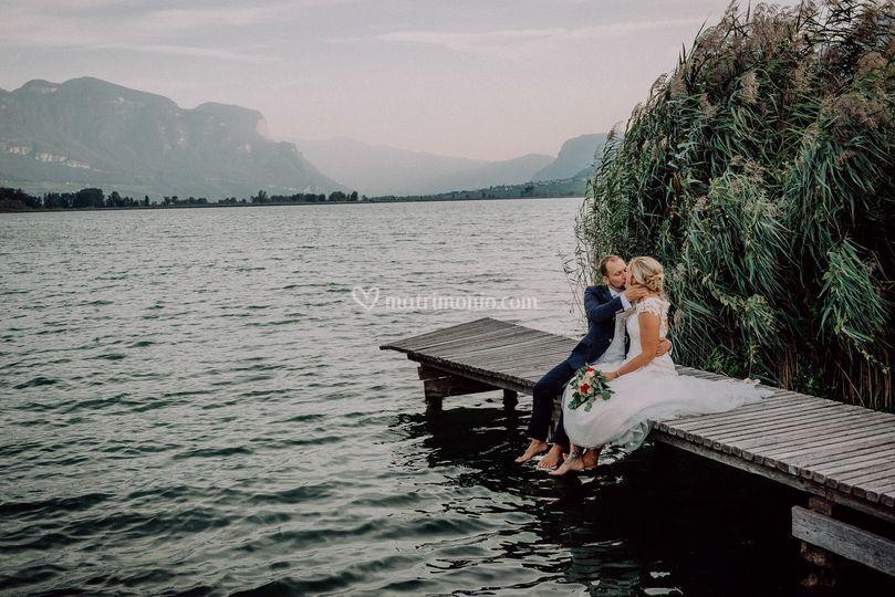 Matrimonio al lago di caldaro
