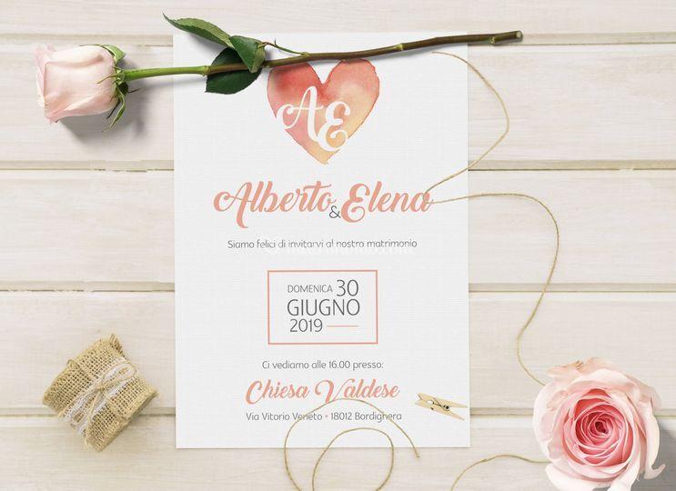 Partecipazioni ed inviti nozze
