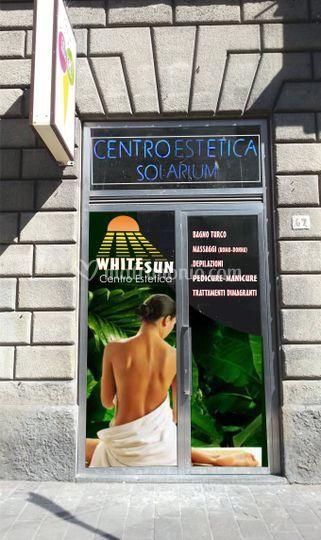 Centro white sun