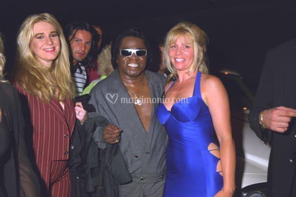 Con James Brown anni '90