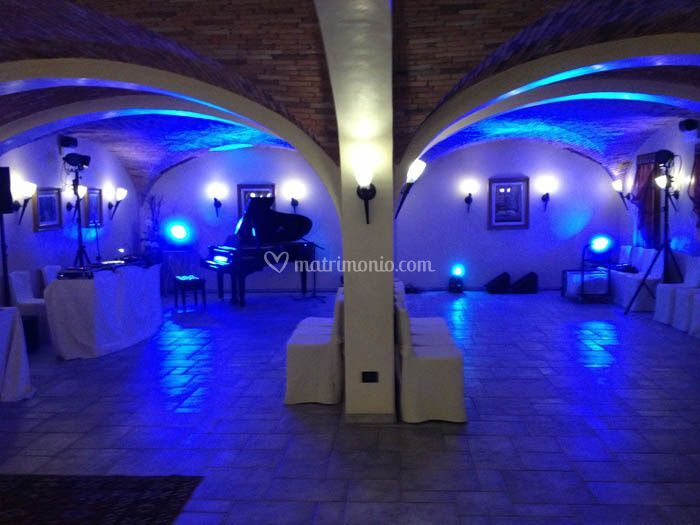 Setup wedding indoor