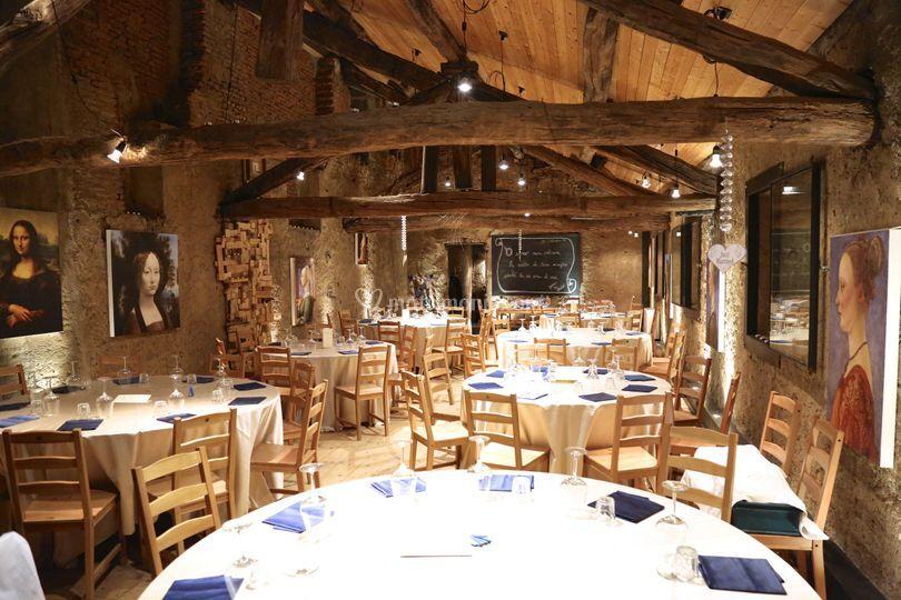 La sala del granaio di mulino dell 39 offellera foto for Piani di fattoria del granaio