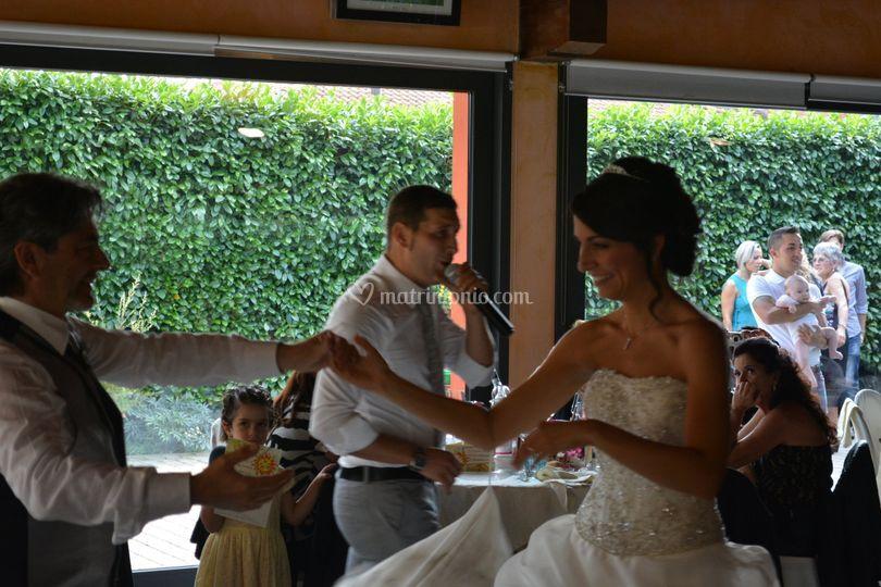Lento sposa con Papa'