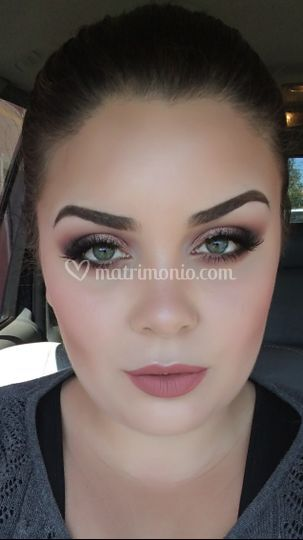 Make up romantico