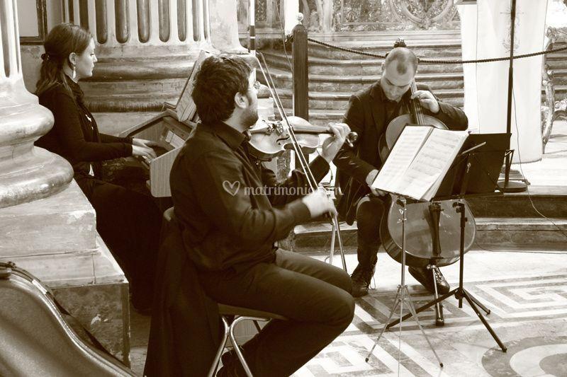 Trio Organo violino & Violonce