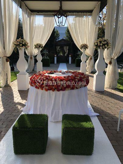 Tavolo cerimonia