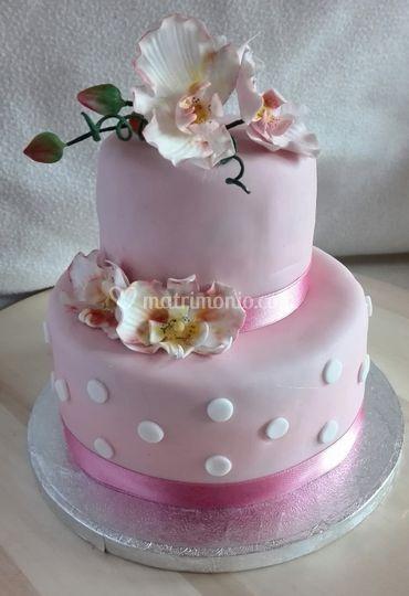 Cake orchidee