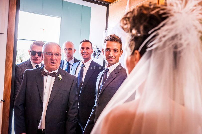 Il padre della sposa!