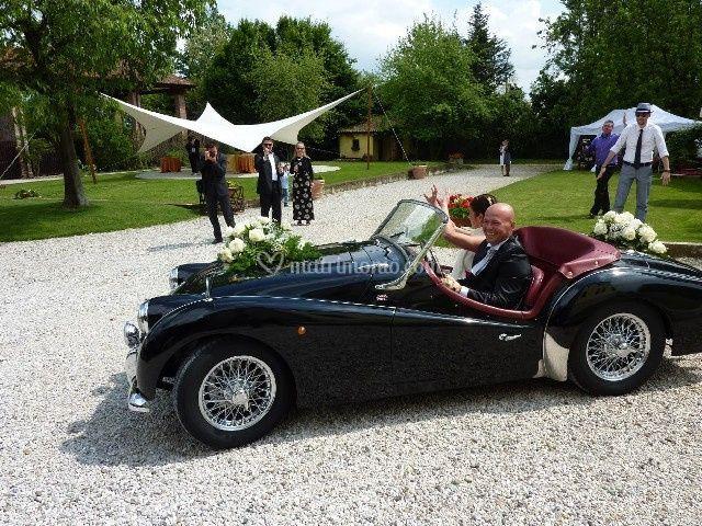 Triumph TR3 anno 1959