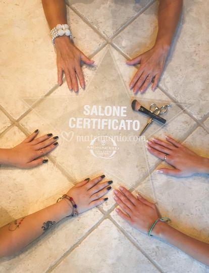 Salone certificato 5 stelle