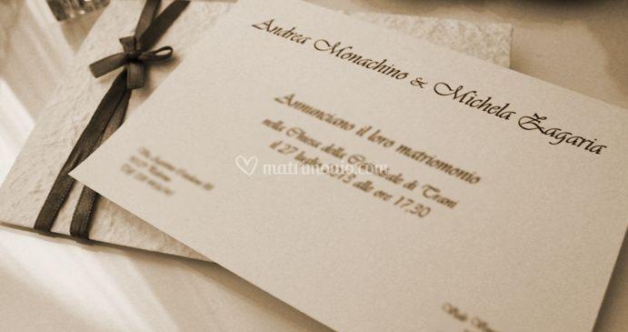 Coordinato di nozze