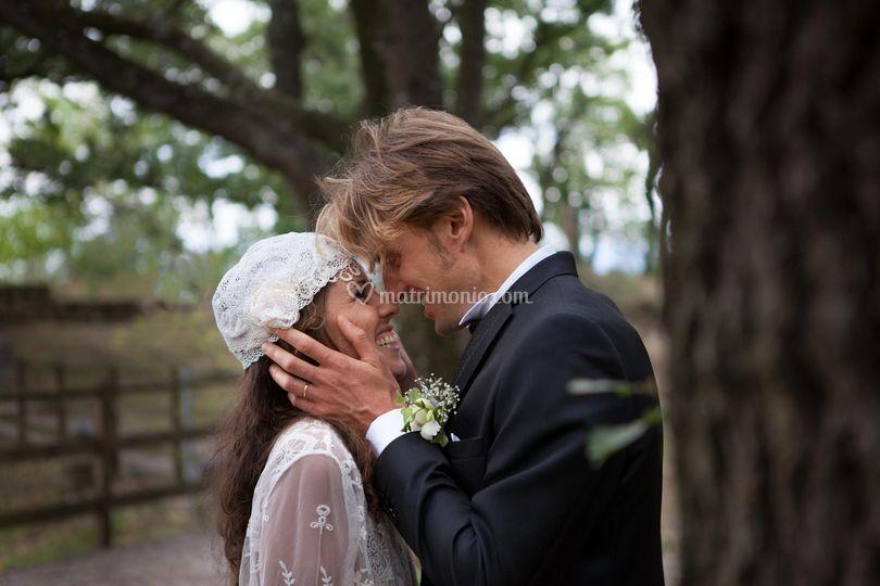 Boho chic bride-bohemienne