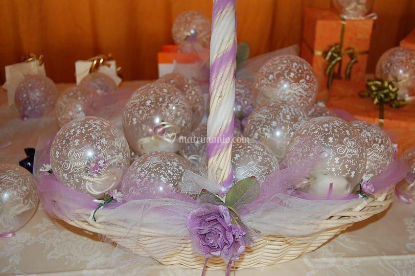 Bomboniere palloncini