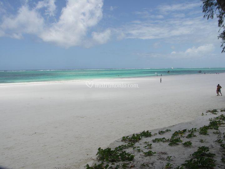 Kenya - Sand At Nomad -La spiaggia