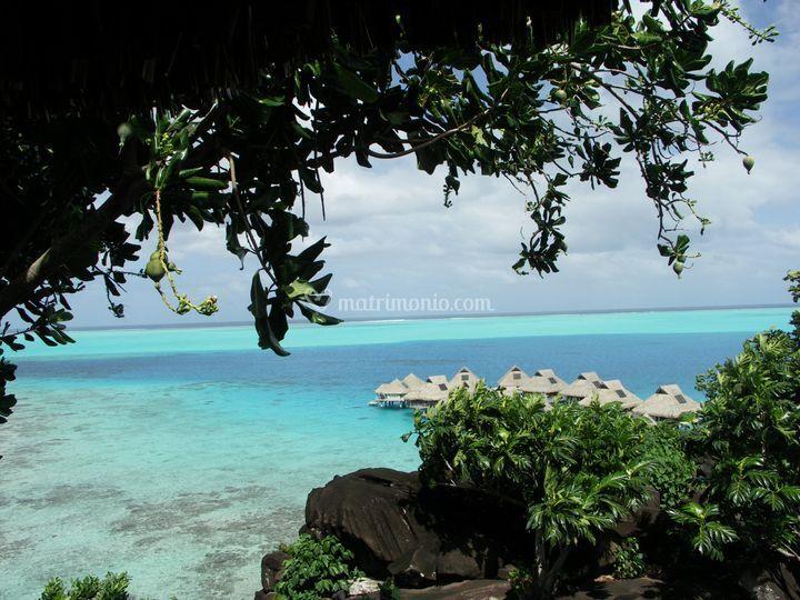 Polinesia - Bora Bora - Una veduta