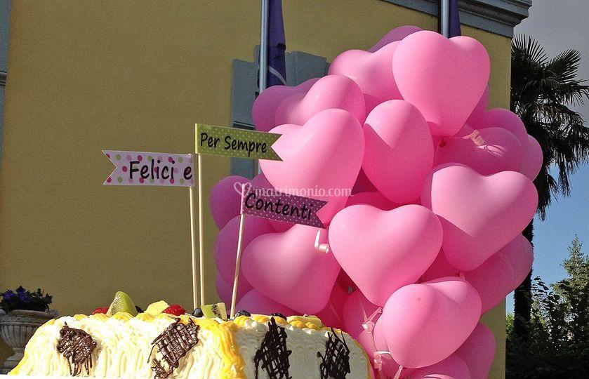 Decorazione wedding cake