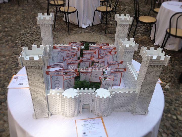 Tableau mariage castello