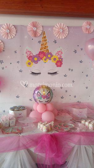 Compleanno unicorno