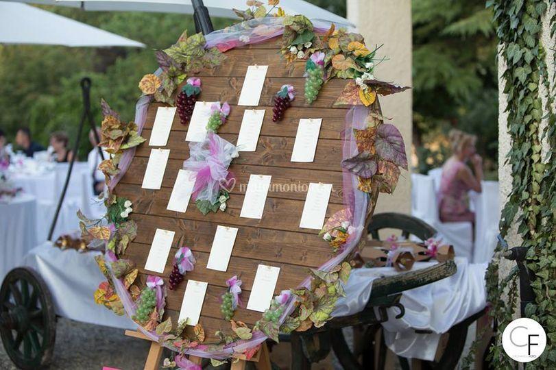 Tableau Matrimonio Rustico : Nozze delizie