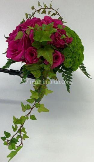 Bouquet struttura sposa