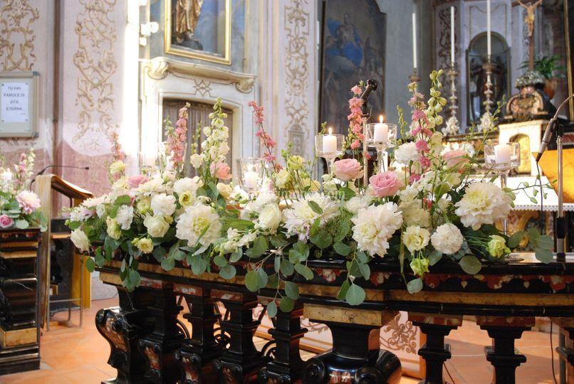 Chiesa candele