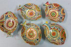 Creazioni in ceramica di Agostino Branca