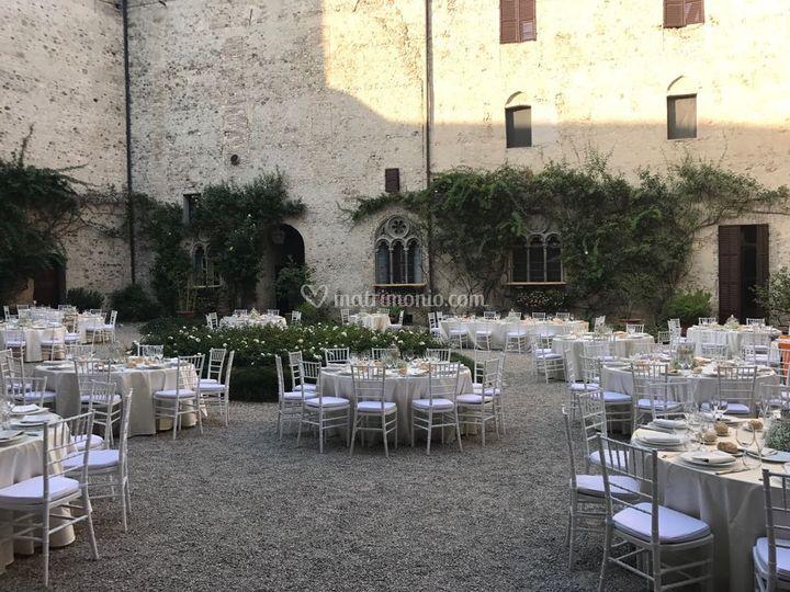 Catering in castello