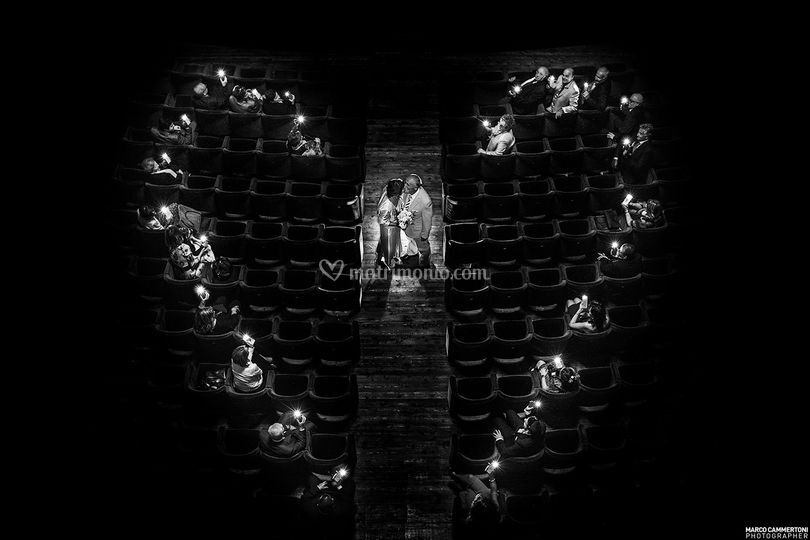Wedding in teatro