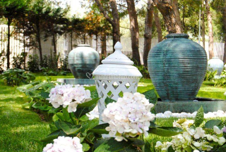 Matrimonio Tema Giardino Zen : Giardino zen di la pineta ricevimenti foto
