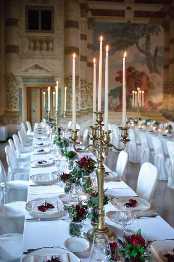 Tavoli Villa Foscarini Rossi