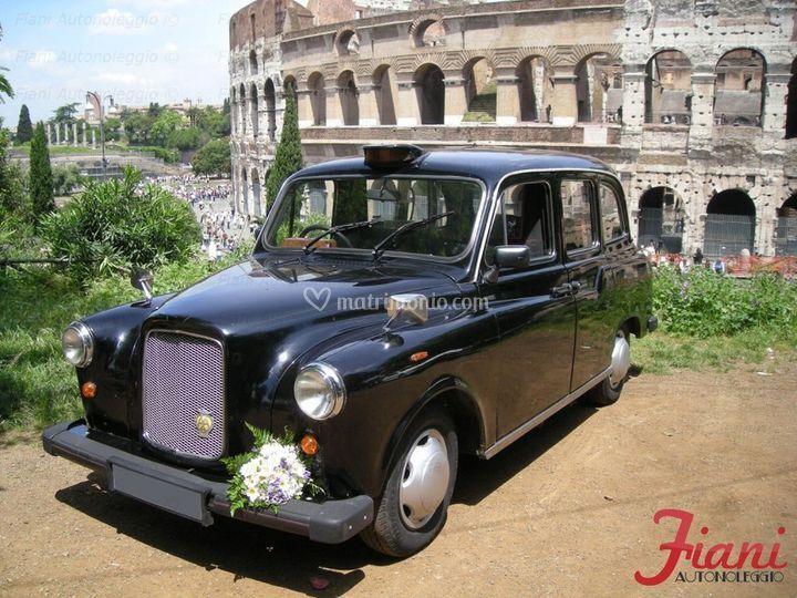 Taxi londinese (6 posti) - interni grigio/rosso