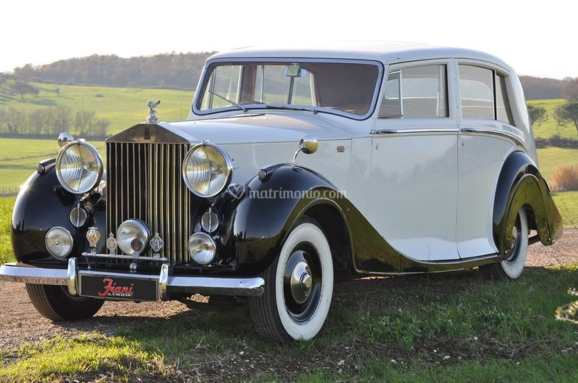 Rolls Royce silverwraithhooper