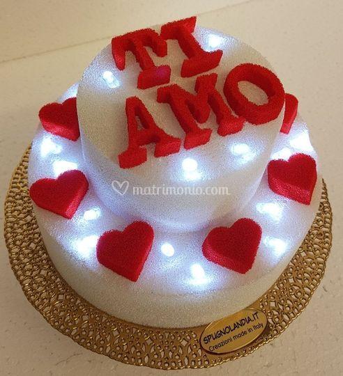 Torta Luminosa  Ti Amo