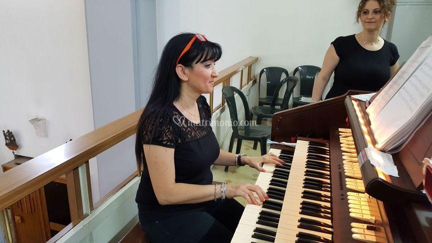 La maestra D'Antuono