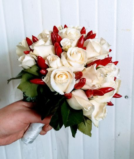 Bouquet Sposa Udine.Le Tre Rose
