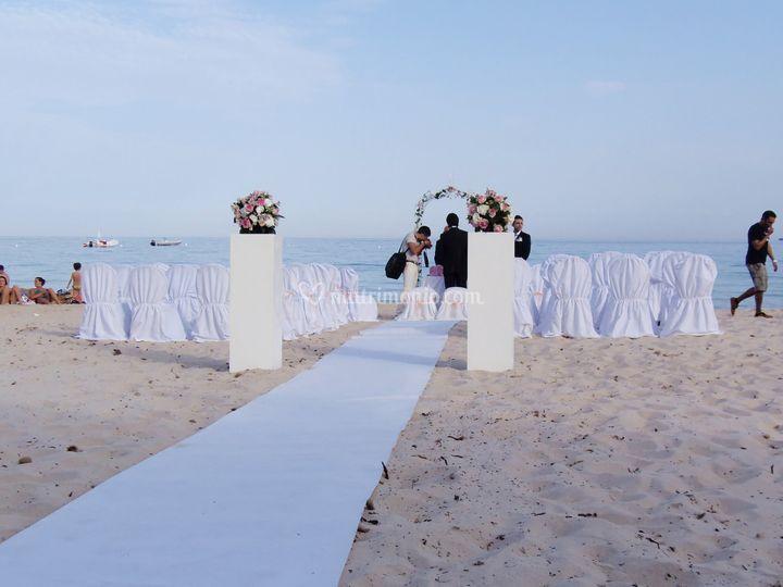Matrimonio In Spiaggia : Matrimonio in spiaggia di hotel abamar foto