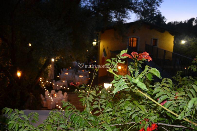 Matrimonio atmosfera romantica
