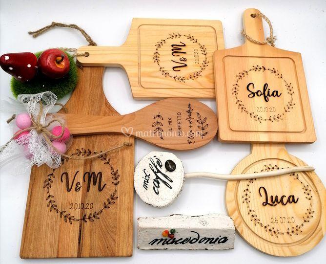 Bomboniere in legno