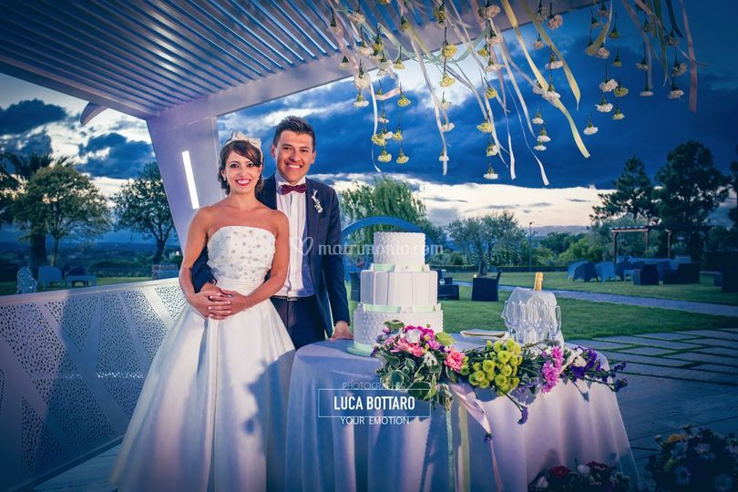 The wedding cake  ELISA & JC