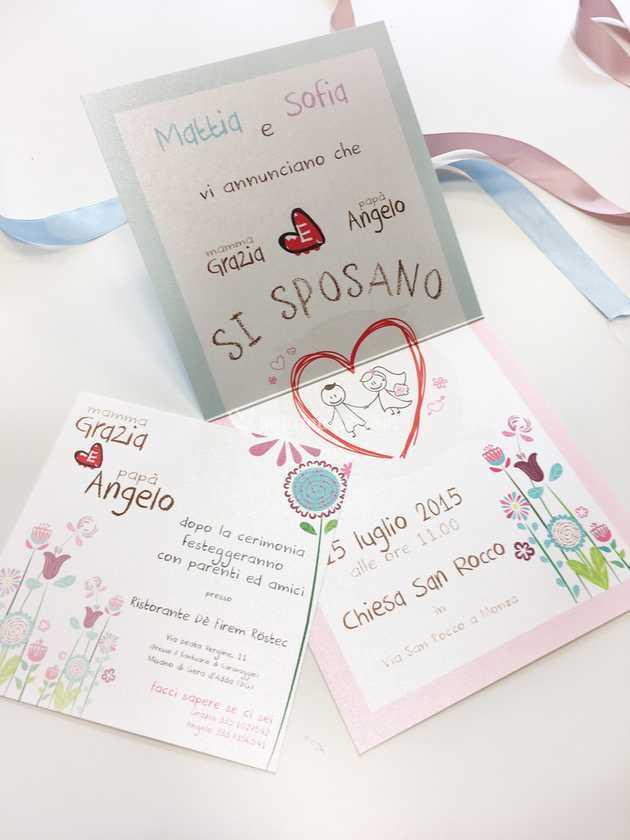 Partecipazioni Matrimonio Mamma E Papa Si Sposano.Mamma E Papa Si Sposano Di Fm Wedding Day Foto 22